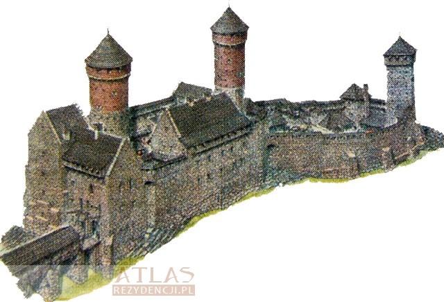 Zamek_Chęciny_rekonstrukcja