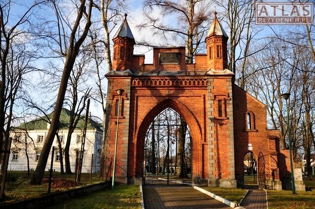 Brama wjazdowa - Pałac w Gościeradowie