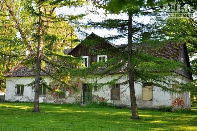 Stary Dwór Załuskich w Iwoniczu