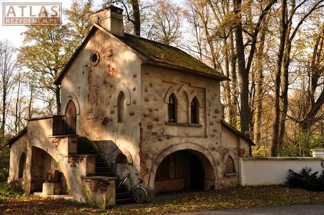 Pałac w Klemensowie-Kordegarda