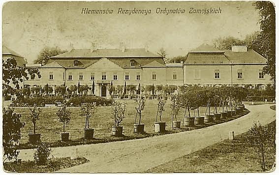 pałac_klemensów_archiwalne_foto