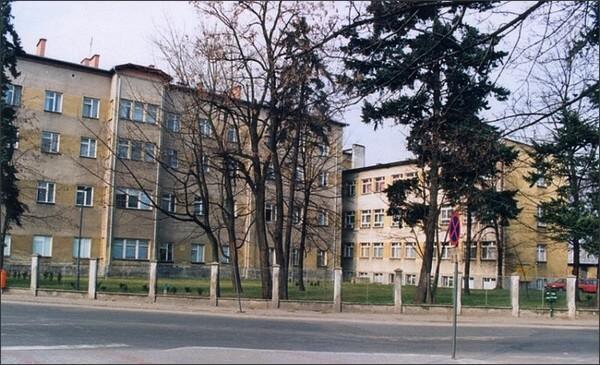 Pałac w Nisku-archiwalnie