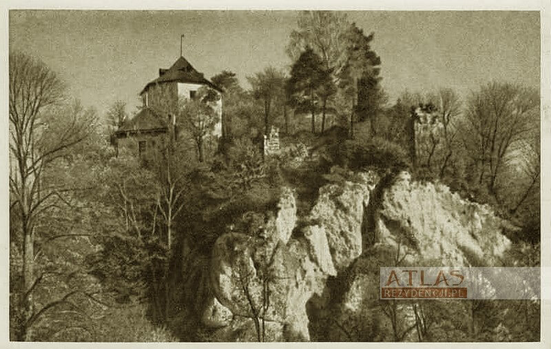 Zamek_Ojców_archiwalne_foto_2