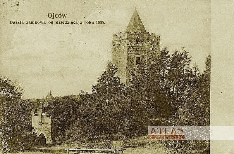 Zamek_Ojców_archiwalne_foto_1