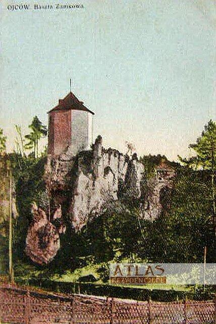 zamek_Ojców_archiwalne_foto