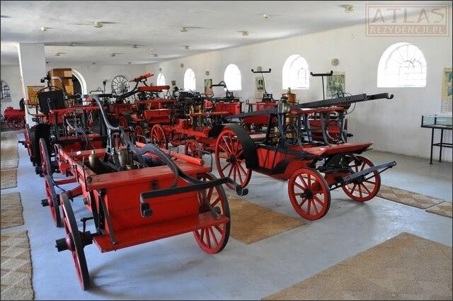Historia pożarnictwa - Pałac w Przeworsku