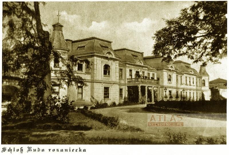 pałac_ruda_różaniecka_foto_archiwalne