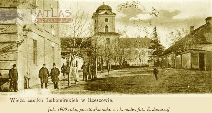 Rzeszów_zamek_archiwalne_foto