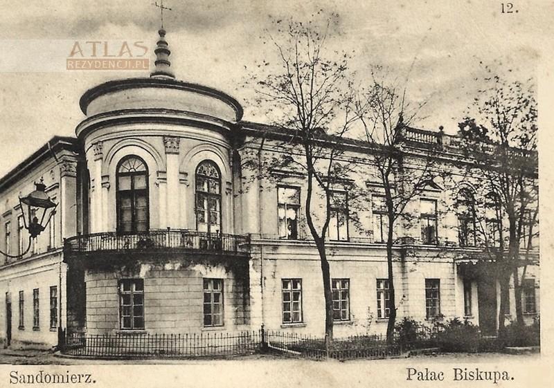 pałac_biskupi_sandomierz_archiwalne_foto