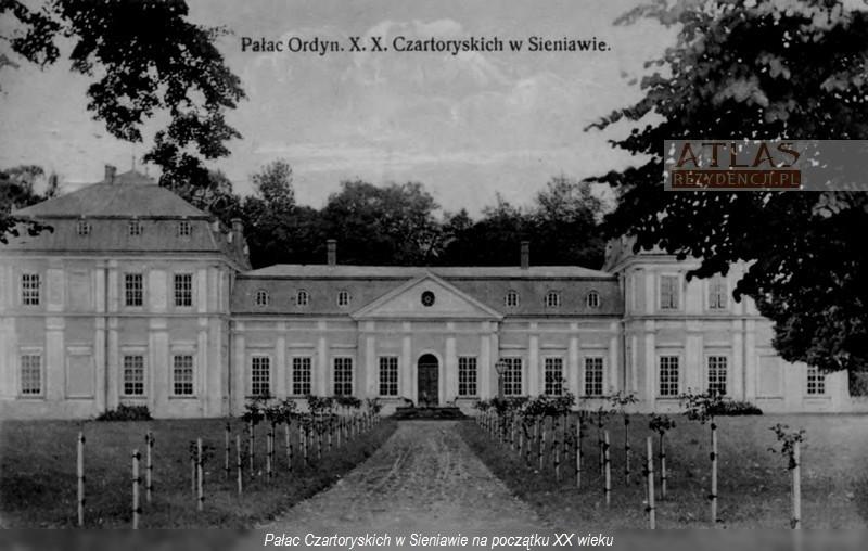 pałac_sieniawa_foto_archiwalne