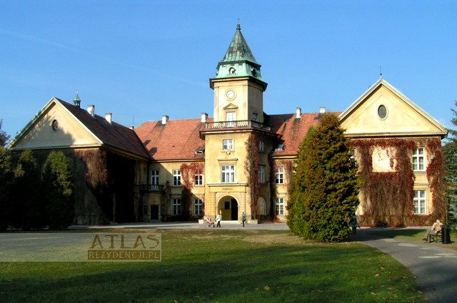 zamek_tarnobrzeg_dzików_archiwalne_foto