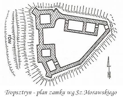 plan_Zamku_Tropsztyn
