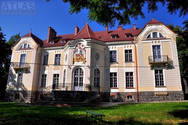 Pałac Tyszkiewiczów w Weryni