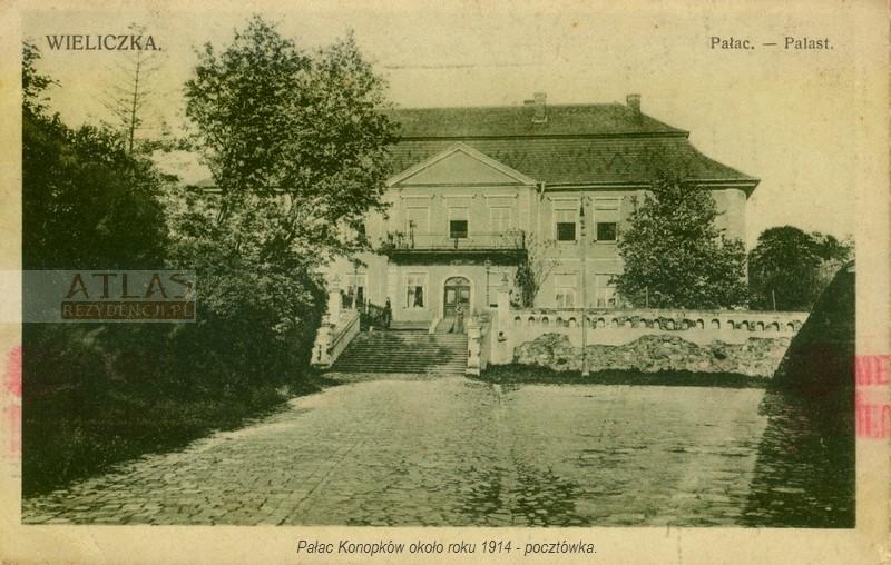 pałac_wieliczka_foto_archiwalne