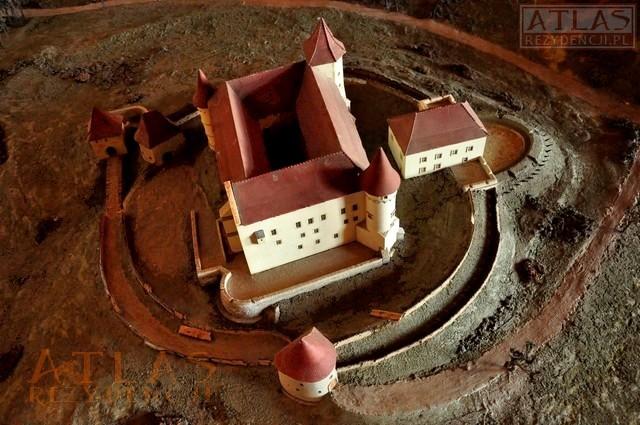 zamek w wiśniczu-makieta
