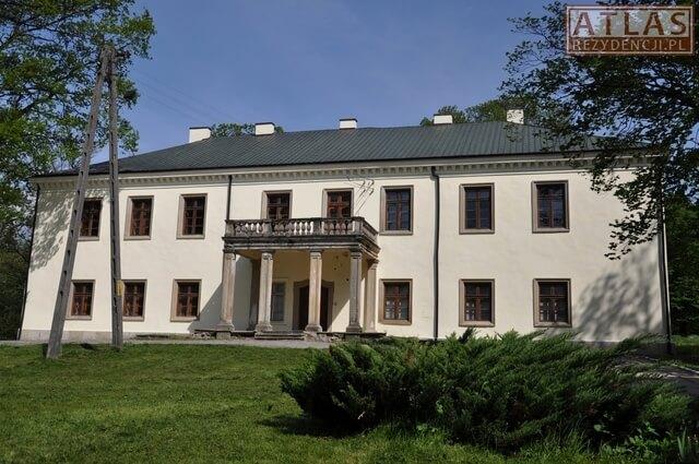Dwór Mycielskich w Wiśniowej