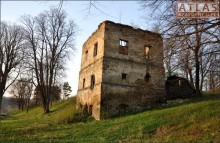 Dąbrówka Starzeńska - Zamek