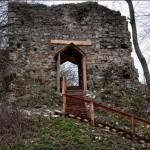Załuż-Sobień - Zamek