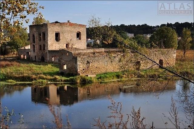 Ćmielów - Zamek