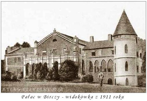 Pałac w Birczy - archiwalne