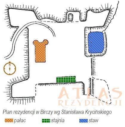 Bircza_Palac_plan