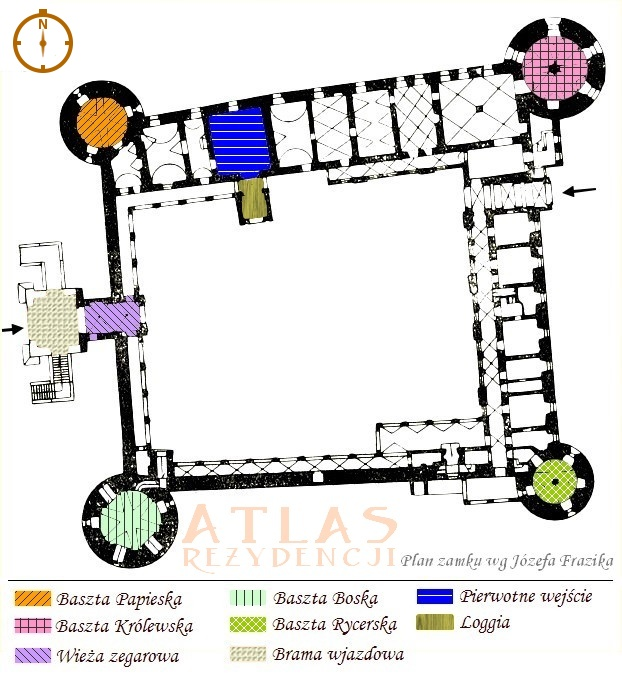Krasiczyn_zamek_plan